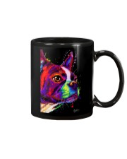 Boston Terrier Poster Water Color Mug thumbnail