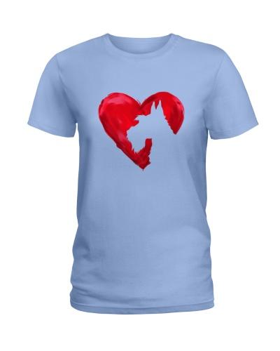 Schnauzer Heart