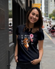 Ferret Love Funny  Ladies T-Shirt lifestyle-women-crewneck-front-5