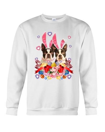 boston terrier flower