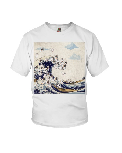 Frenchie Great Wave