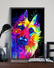 German Shepherd Water Color Art T30 11x17 Poster lifestyle-poster-2