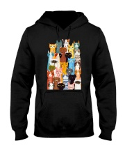 Cats Multi Hooded Sweatshirt thumbnail