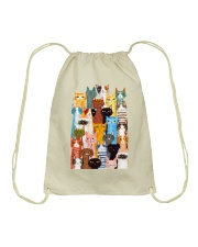 Cats Multi Drawstring Bag thumbnail