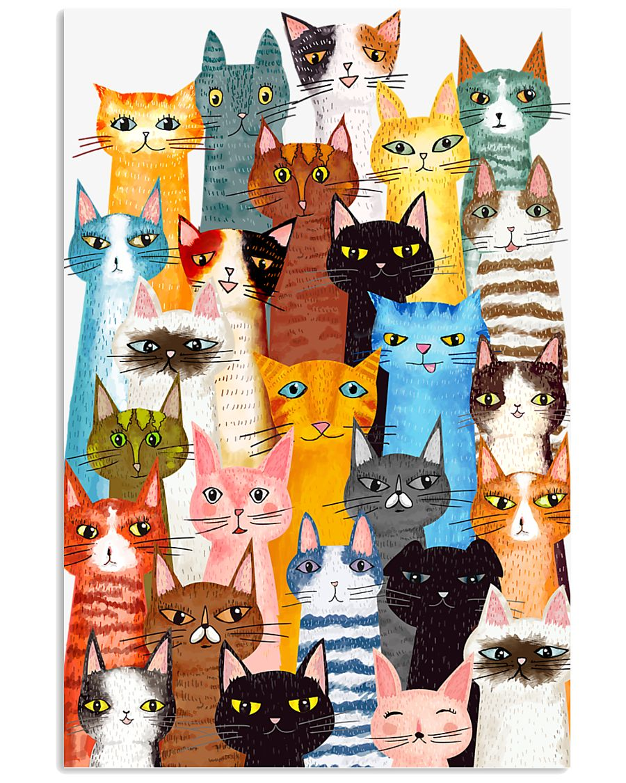Cats Multi 24x36 Poster