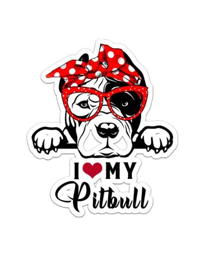 Pitbull I love