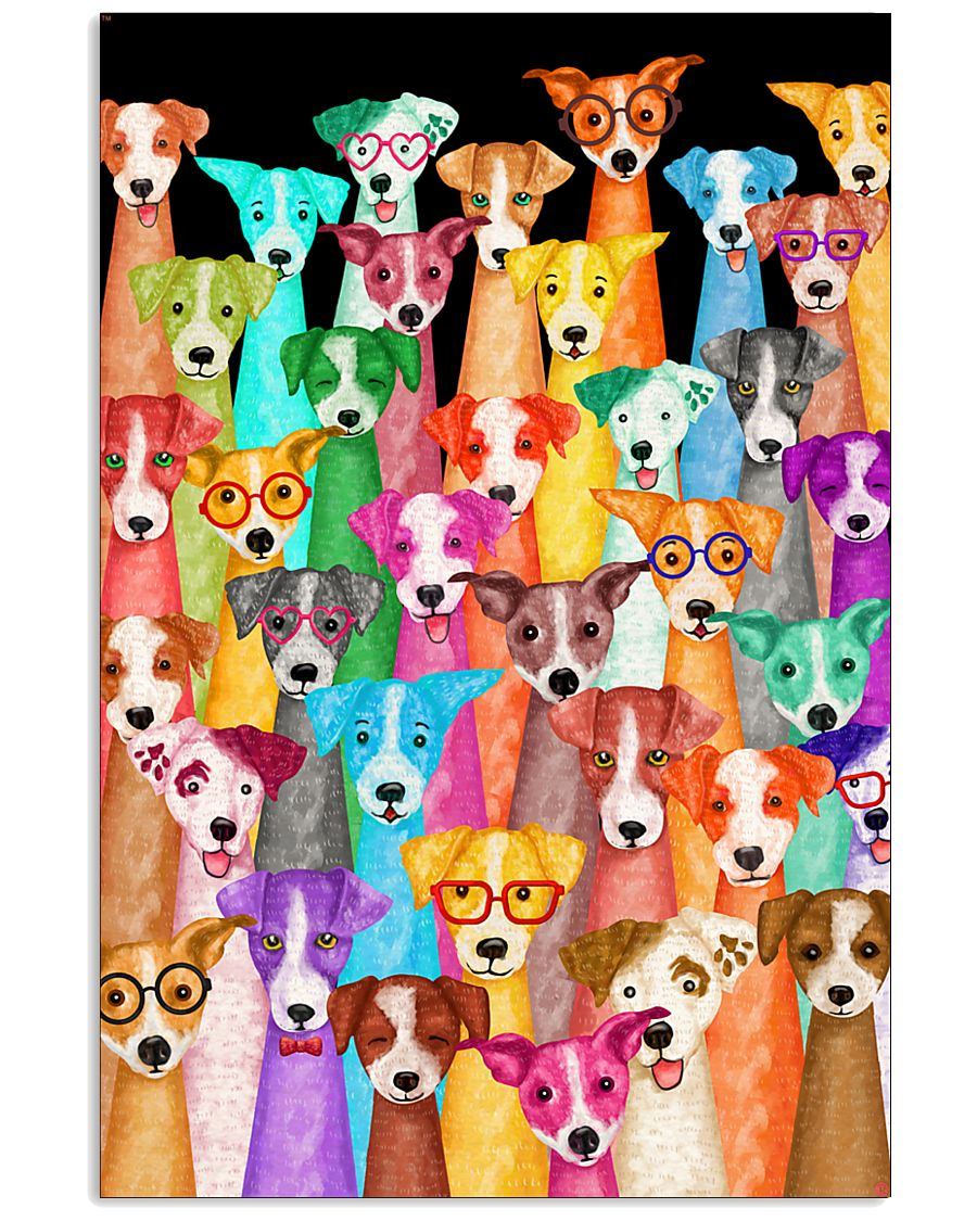 Jack Russell Multi-dog  11x17 Poster