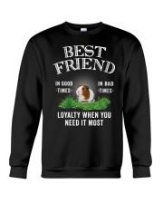 Guinea Pig Best Friend Loyalty When You Need It Crewneck Sweatshirt thumbnail