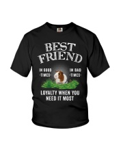 Guinea Pig Best Friend Loyalty When You Need It Youth T-Shirt thumbnail