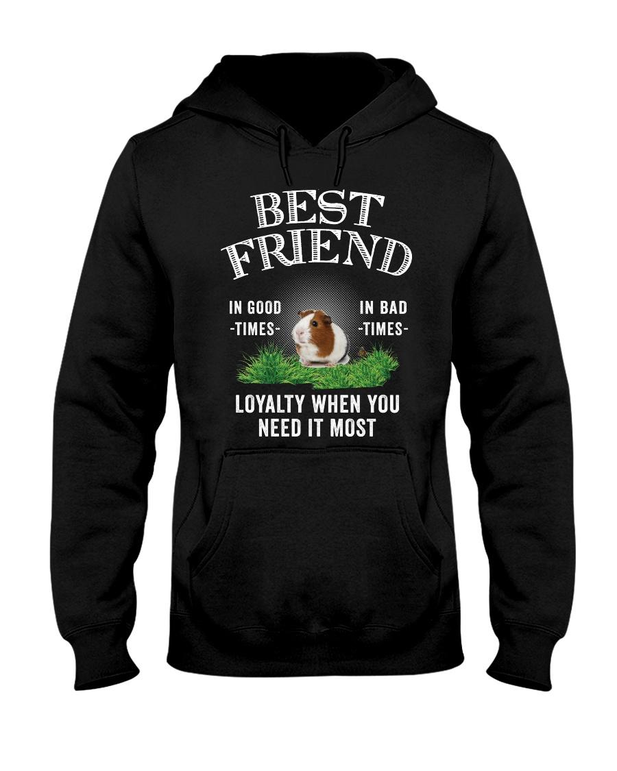Guinea Pig Best Friend Loyalty When You Need It Hooded Sweatshirt