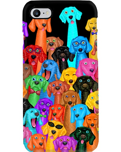 Weimaraner Phone Case Multi