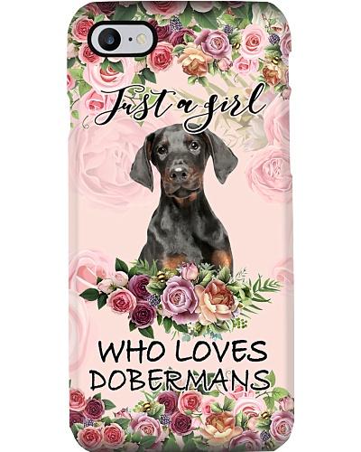 Doberman Girl Love
