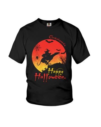 Greyhound Happy Halloween