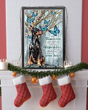 Doberman Winter 24x36 Poster lifestyle-holiday-poster-4