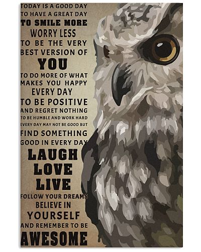 Owl to be awesome