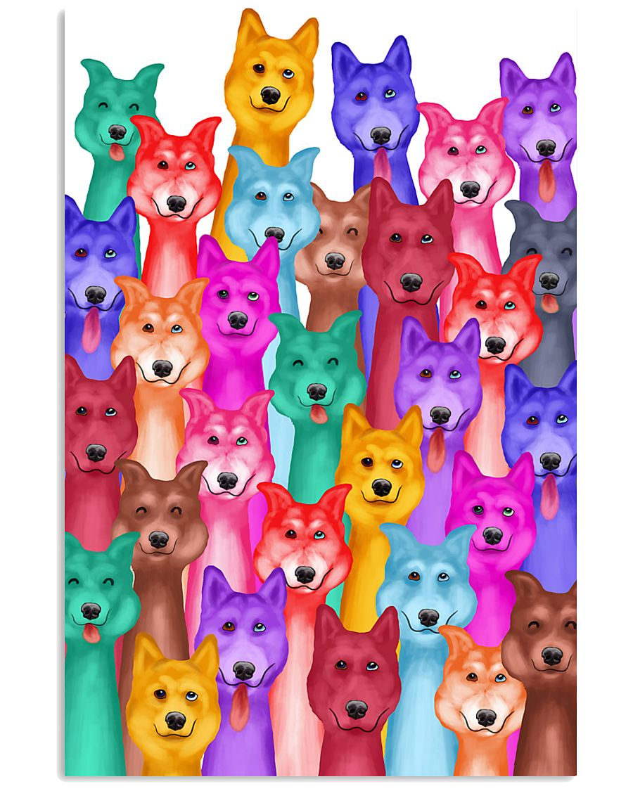 Husky Painting 24x36 Poster