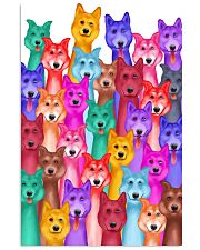 Husky Painting 24x36 Poster front