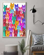 Husky Painting 24x36 Poster lifestyle-poster-1