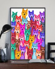 Husky Painting 24x36 Poster lifestyle-poster-2