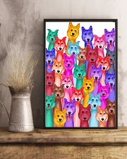 Husky Painting 24x36 Poster lifestyle-poster-3