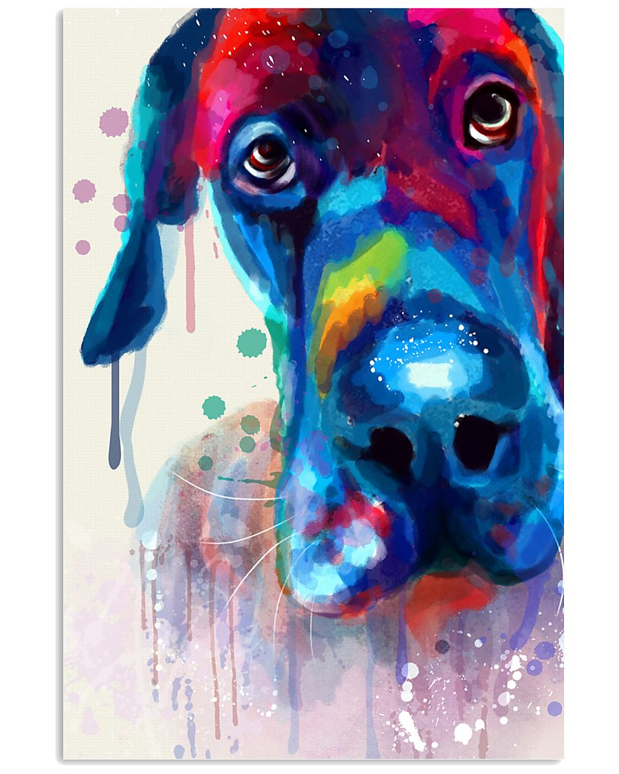 Great Dane color 11x17 Poster