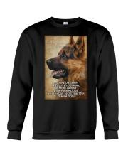 German shepherd poster Crewneck Sweatshirt thumbnail