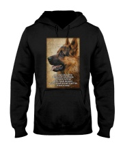 German shepherd poster Hooded Sweatshirt thumbnail