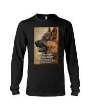 German shepherd poster Long Sleeve Tee thumbnail