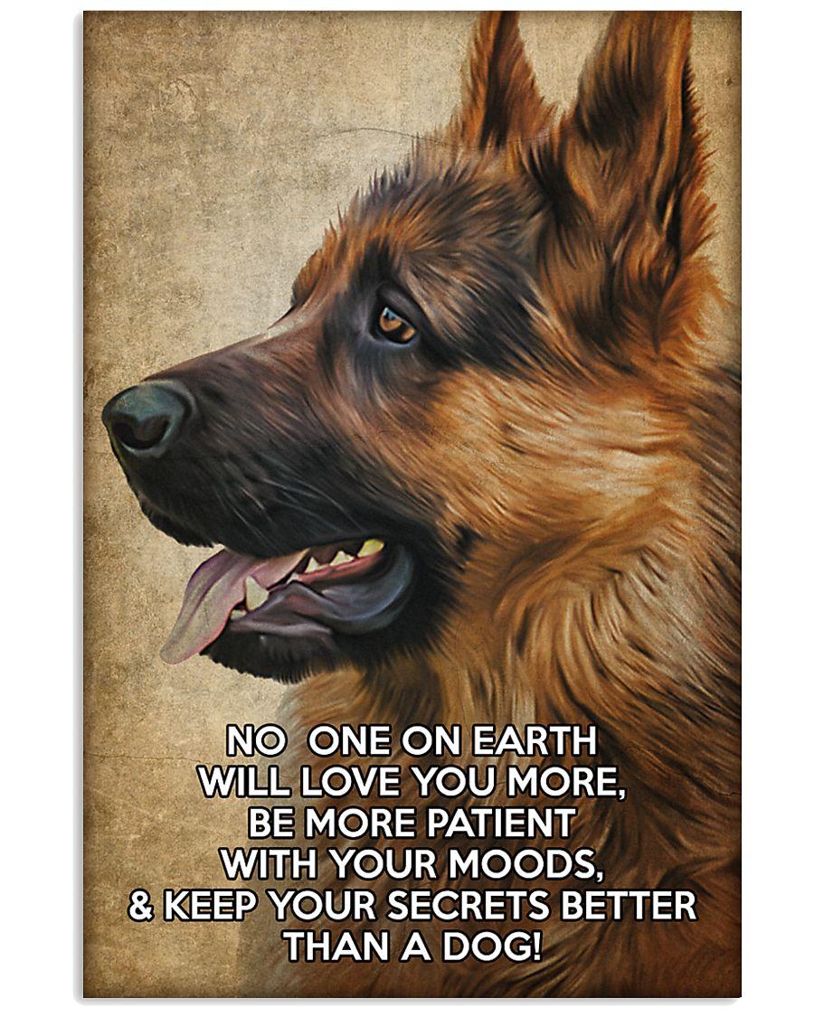 German shepherd poster 11x17 Poster