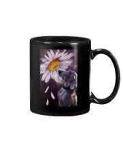 Weimaraner Flower Poster Mug thumbnail