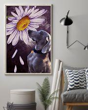 Weimaraner Flower Poster 16x24 Poster lifestyle-poster-1