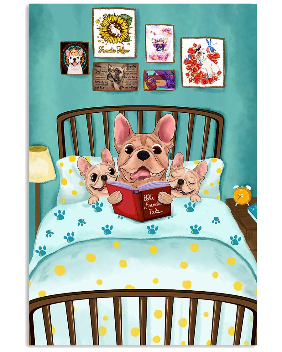 French Bulldog Book 16x24 Poster