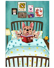 French Bulldog Book 16x24 Poster front