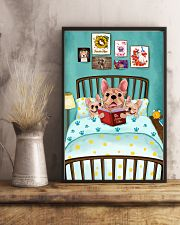 French Bulldog Book 16x24 Poster lifestyle-poster-3