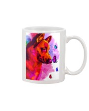 German Shepherd Buterfly Water Color Mug thumbnail