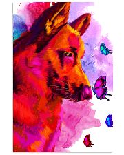 German Shepherd Buterfly Water Color 11x17 Poster thumbnail