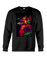 German Shepherd Water Color Art D30 Crewneck Sweatshirt thumbnail