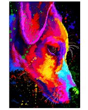 Jack Russell Water Color Art Half Face  11x17 Poster front
