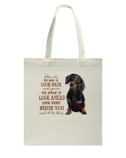 dachshund Beside you Tote Bag thumbnail