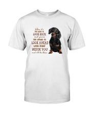 dachshund Beside you Premium Fit Mens Tee thumbnail