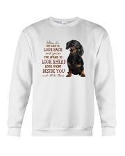 dachshund Beside you Crewneck Sweatshirt thumbnail