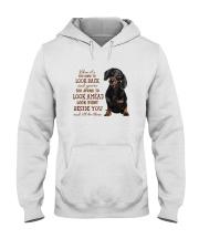 dachshund Beside you Hooded Sweatshirt thumbnail