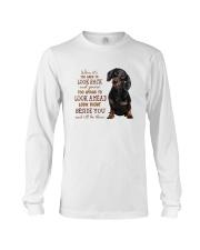 dachshund Beside you Long Sleeve Tee thumbnail
