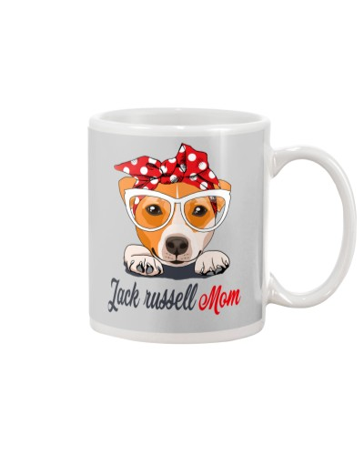 Funny Jack Russell Mom