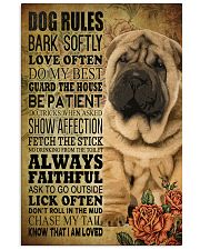 Shar pei Rule 11x17 Poster front