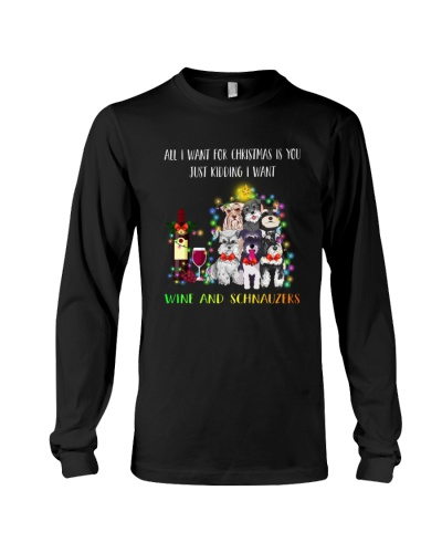 Schnauzer Christmas Gift