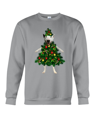 bull terrier christmas tree