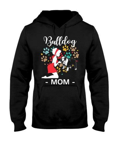 BullDog Hoodie Mom