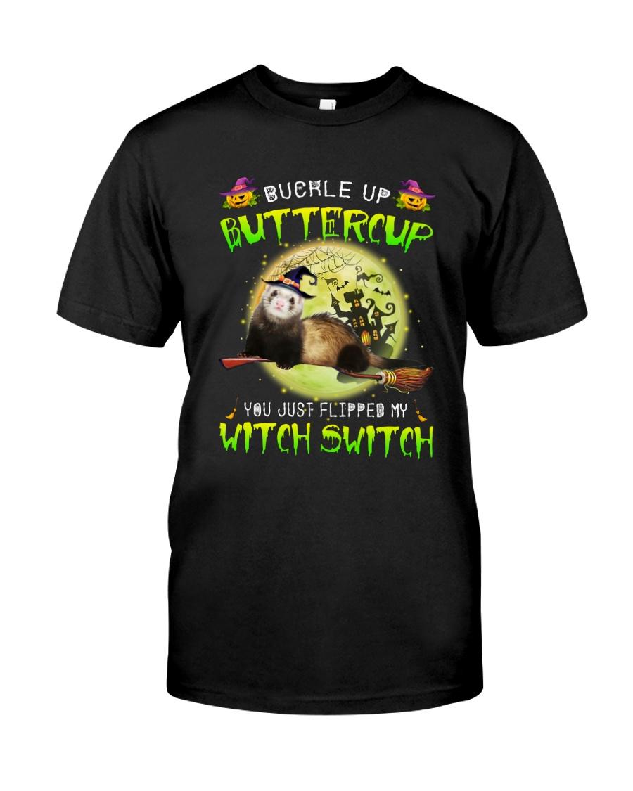 Ferret Haloween Witch Classic T-Shirt