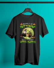 Ferret Haloween Witch Classic T-Shirt lifestyle-mens-crewneck-front-3